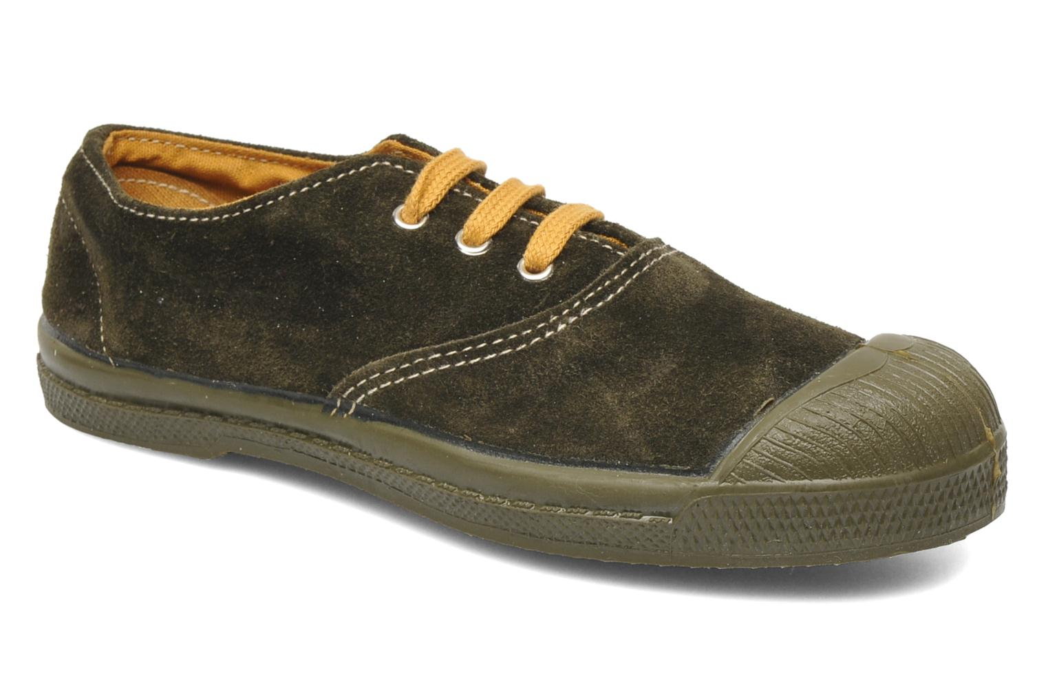 Trainers Bensimon Tennis Suedes Unies E Brown detailed view/ Pair view