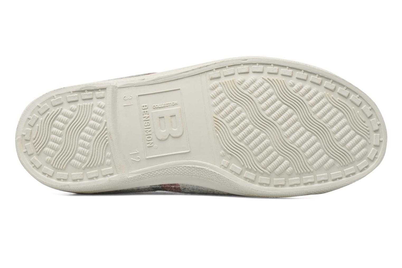 Sneakers Bensimon Tennis Flaneldots E Grijs boven