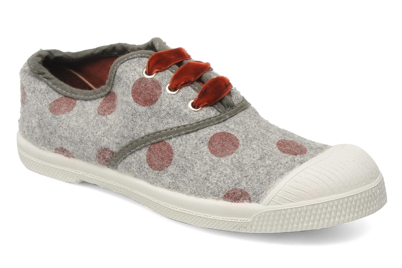 Sneaker Bensimon Tennis Flaneldots E grau detaillierte ansicht/modell
