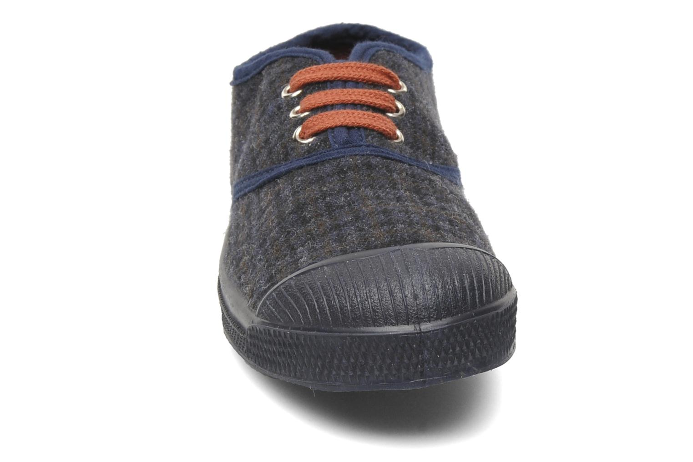 Baskets Bensimon Tennis Katherine E Gris vue portées chaussures