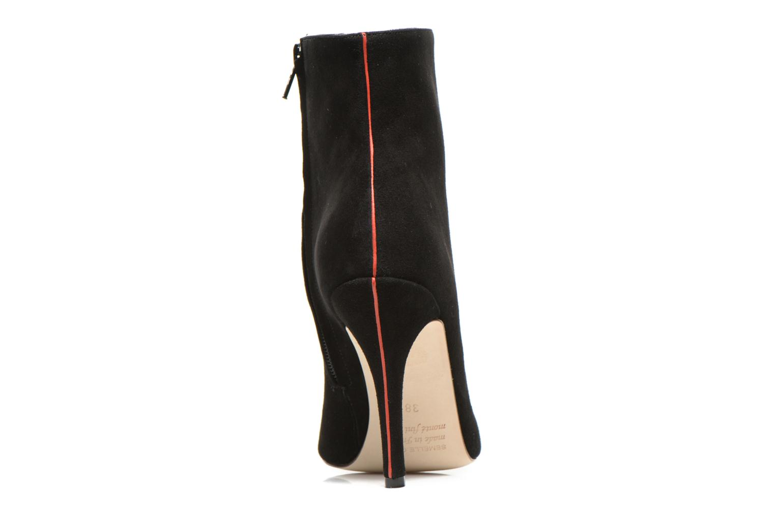 Ankle boots Fred Marzo Titop Boot Black view from the right