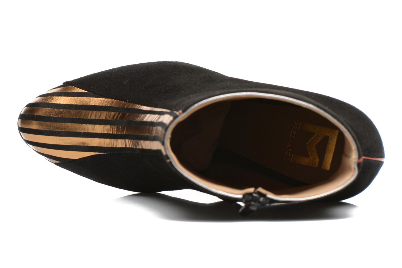 Bottines et boots Fred Marzo Titop Boot Noir vue gauche