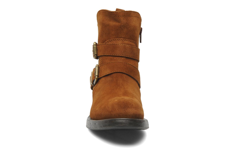 Stiefeletten & Boots Unisa Isiku braun schuhe getragen