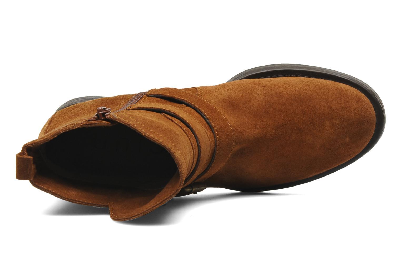 Stiefeletten & Boots Unisa Isiku braun ansicht von links