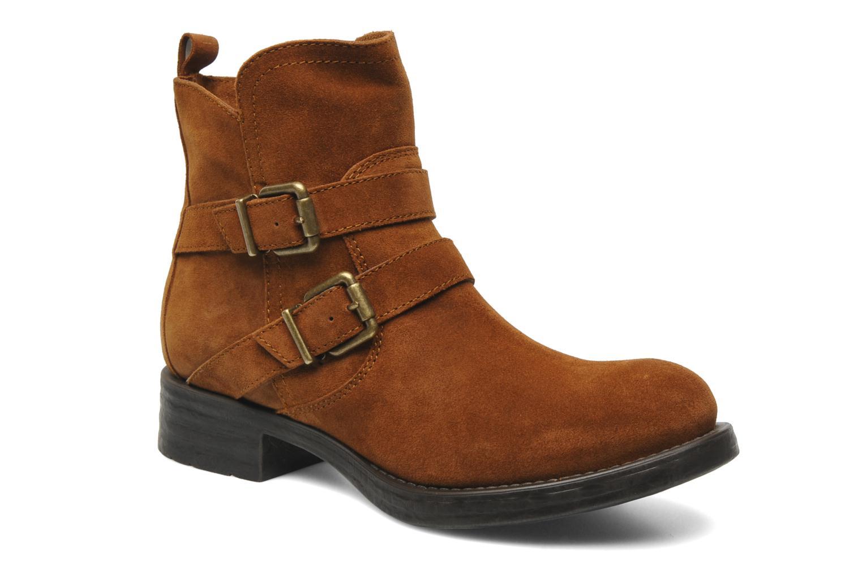 Stiefeletten & Boots Unisa Isiku braun detaillierte ansicht/modell