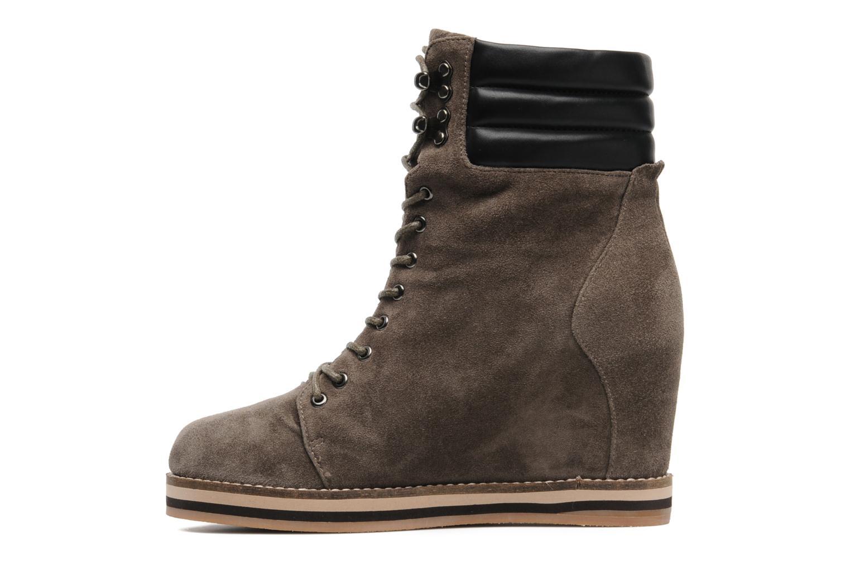 Bottines et boots Luciano Barachini Aconit Gris vue face