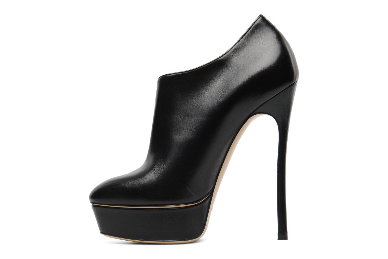 Bottines et boots Casadei Raimondi Noir vue face