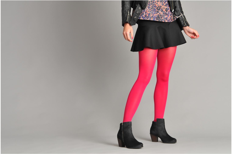 Stiefeletten & Boots Skin by Finsk Bunton schwarz ansicht von unten / tasche getragen