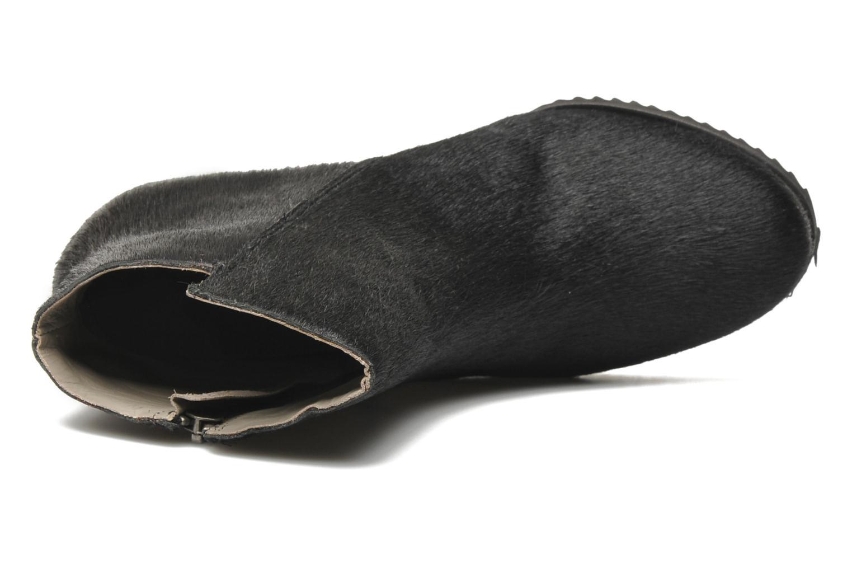 Botines  Skin by Finsk Bunton Negro vista lateral izquierda