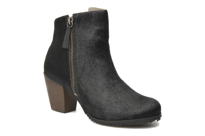 Stiefeletten & Boots Skin by Finsk Bunton schwarz detaillierte ansicht/modell