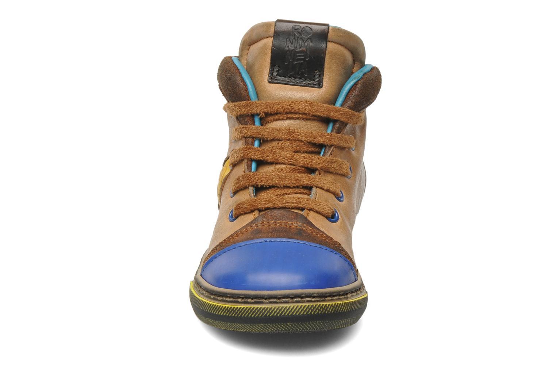 Baskets Rondinella Rondi 3582 Marron vue portées chaussures