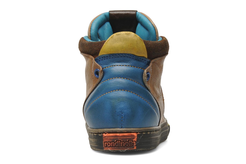 Sneakers Rondinella Rondi 3582 Bruin rechts