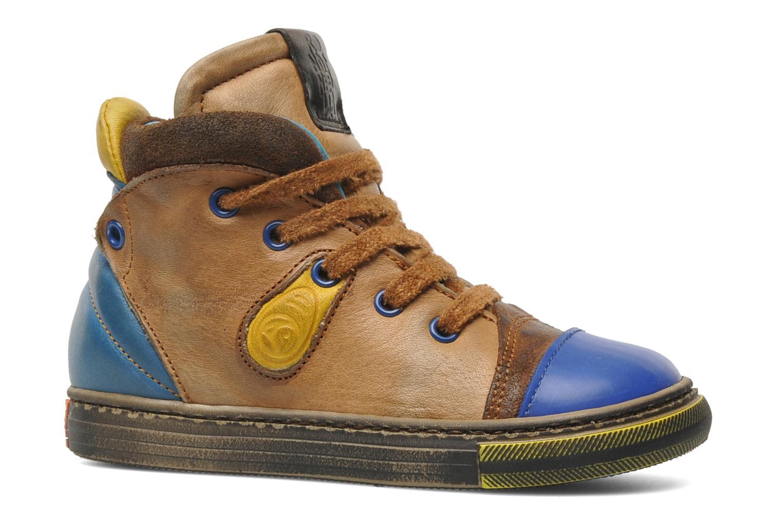 Sneakers Rondinella Rondi 3582 Bruin achterkant