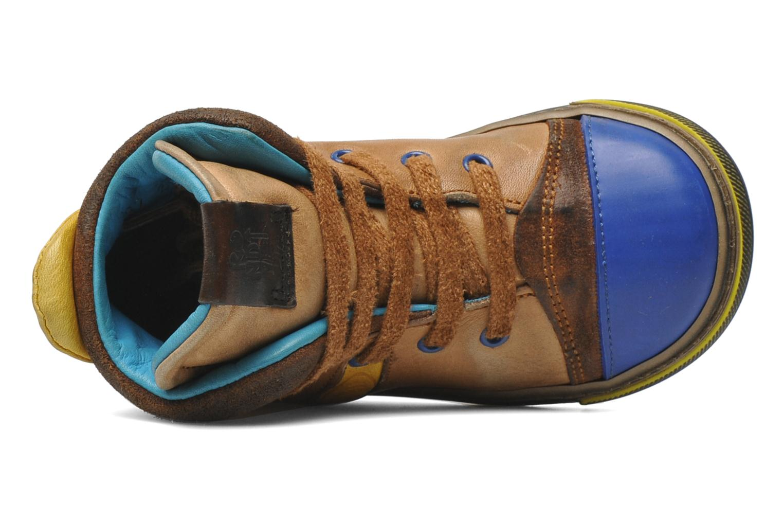 Sneakers Rondinella Rondi 3582 Bruin links