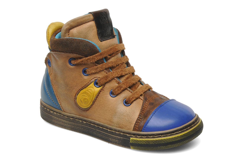 Sneakers Rondinella Rondi 3582 Bruin detail