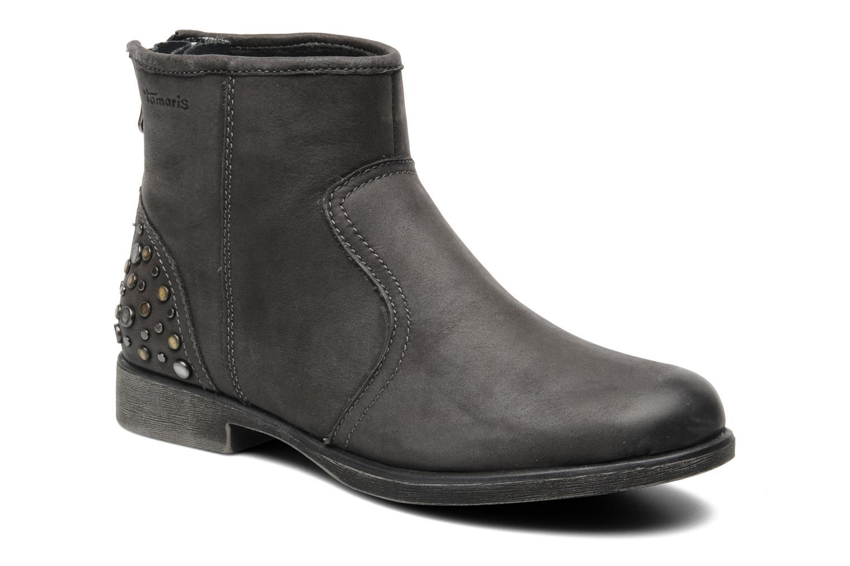 Bottines et boots Tamaris Bay Gris vue détail/paire