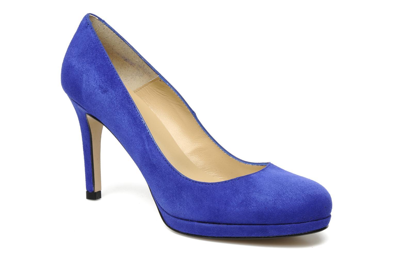 Escarpins Georgia Rose Serverne Bleu vue détail/paire