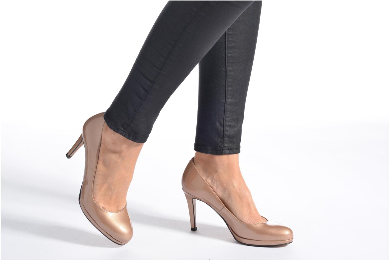 Zapatos de tacón Georgia Rose Serverne Negro vista de abajo