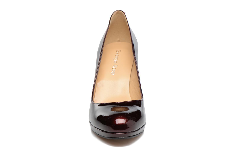 Escarpins Georgia Rose Serverne Bordeaux vue portées chaussures