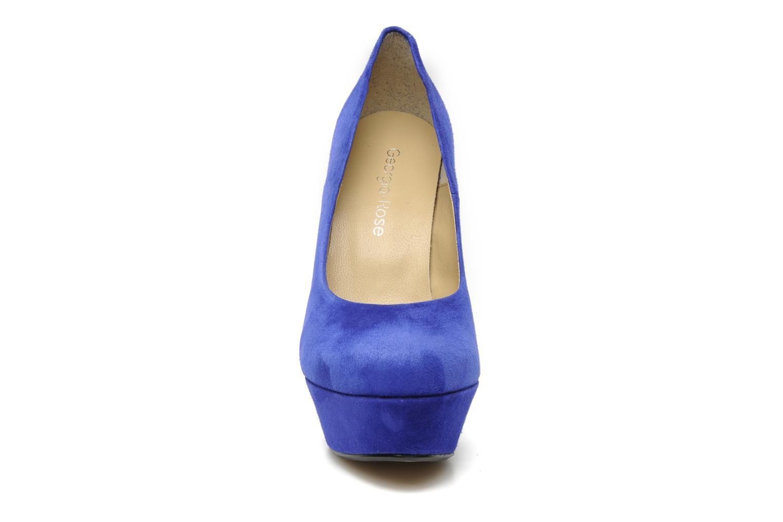 Escarpins Georgia Rose Vertige Bleu vue portées chaussures