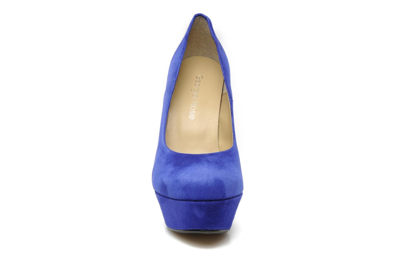 High heels Georgia Rose Vertige Blue model view