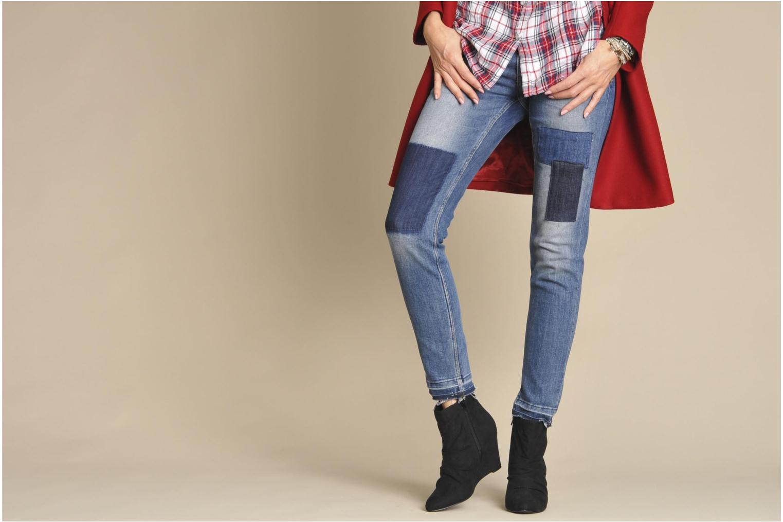 Bottines et boots I Love Shoes Pace Noir vue bas / vue portée sac