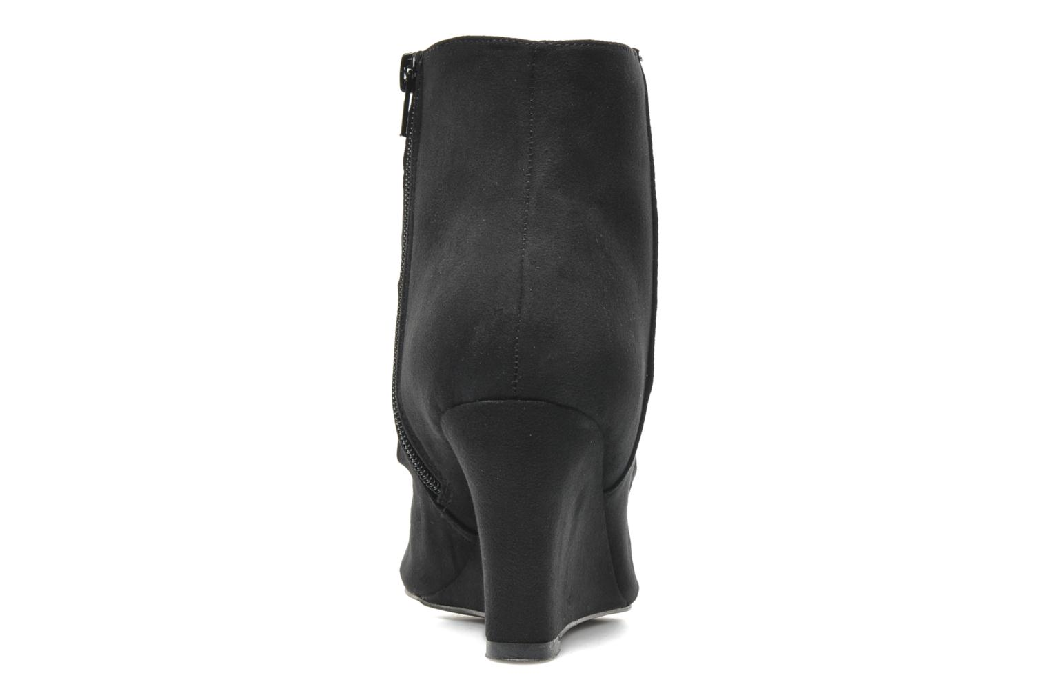 Ankle boots I Love Shoes Pace Black view from the right