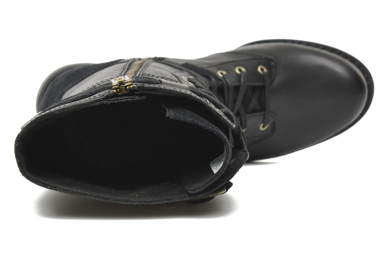 Boots en enkellaarsjes Timberland Savin Hill Mid Boot Zwart links