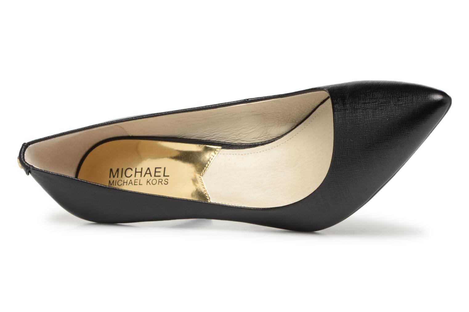 High heels Michael Michael Kors MK Flex Mid Pump W Black view from the left
