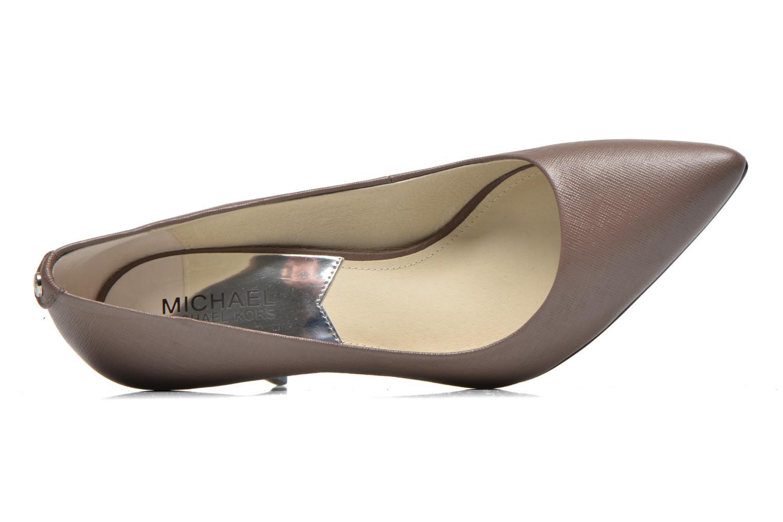 Escarpins Michael Michael Kors MK-Flex Mid Pump Marron vue gauche