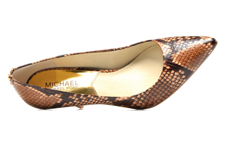 MK-Flex Mid Pump Dark Khaki + Printed snake