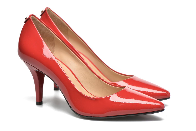 High heels Michael Michael Kors MK-Flex Mid Pump Red 3/4 view