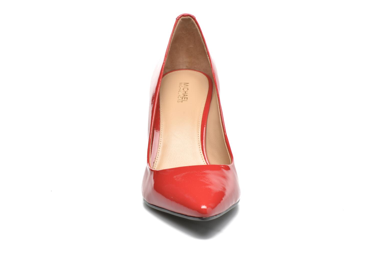 High heels Michael Michael Kors MK-Flex Mid Pump Red model view