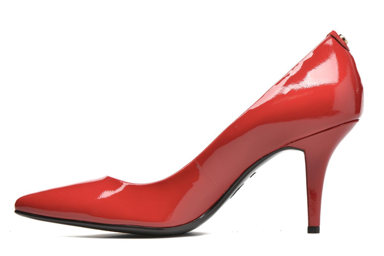 High heels Michael Michael Kors MK-Flex Mid Pump Red front view