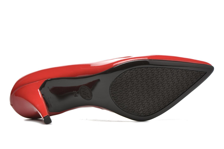 High heels Michael Michael Kors MK-Flex Mid Pump Red view from above