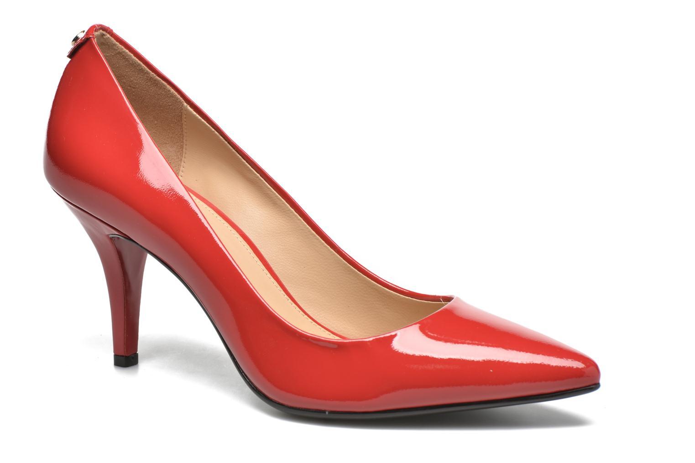 Zapatos de tacón Michael Michael Kors MK Flex Mid Pump W Rojo vista de detalle / par