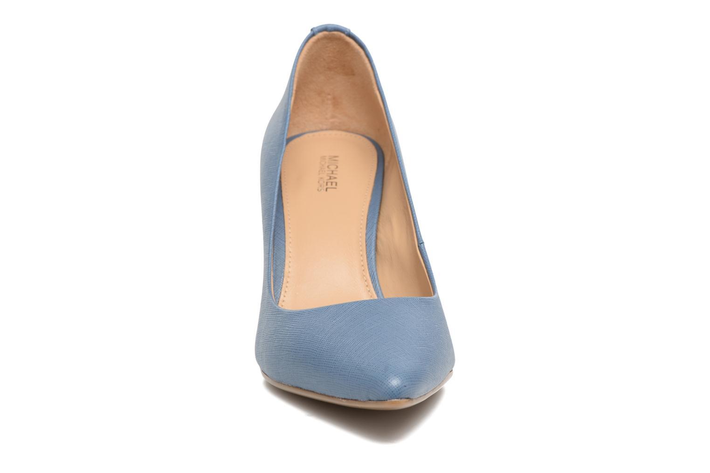 High heels Michael Michael Kors MK Flex Mid Pump W Blue model view