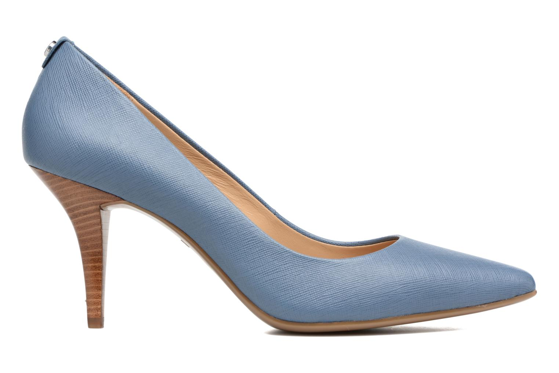 High heels Michael Michael Kors MK Flex Mid Pump W Blue back view