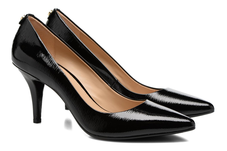Zapatos de tacón Michael Michael Kors MK Flex Mid Pump W Negro vista 3/4