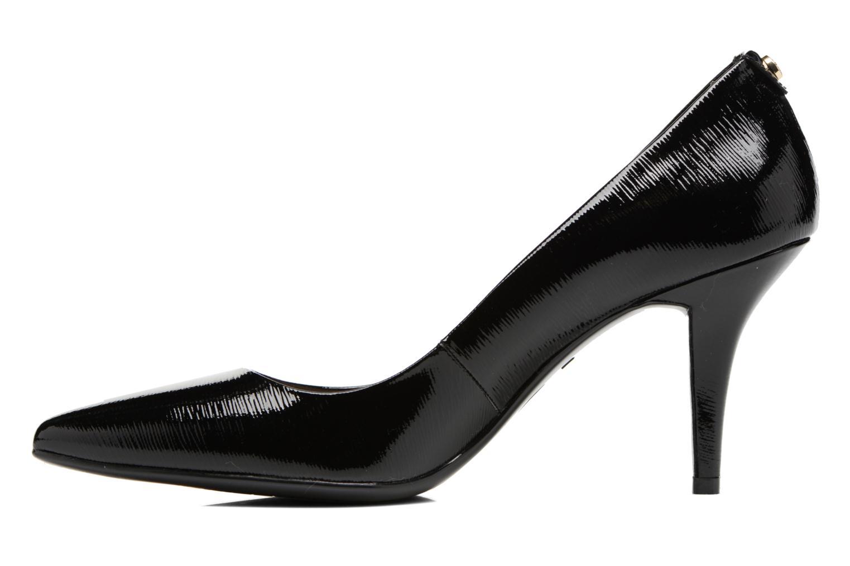 Zapatos de tacón Michael Michael Kors MK Flex Mid Pump W Negro vista de frente