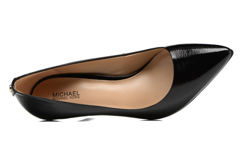 Zapatos de tacón Michael Michael Kors MK Flex Mid Pump W Negro vista lateral izquierda