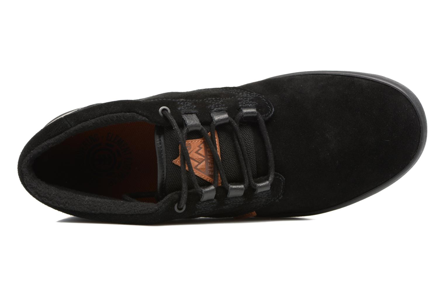 Sport shoes Element Preston Black view from the left