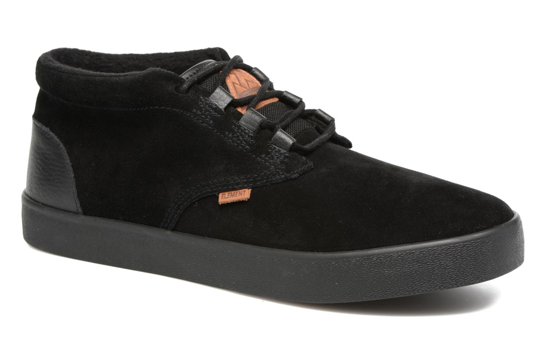 Sport shoes Element Preston Black detailed view/ Pair view