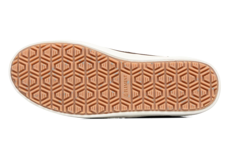 Chaussures de sport Element Preston Marron vue haut