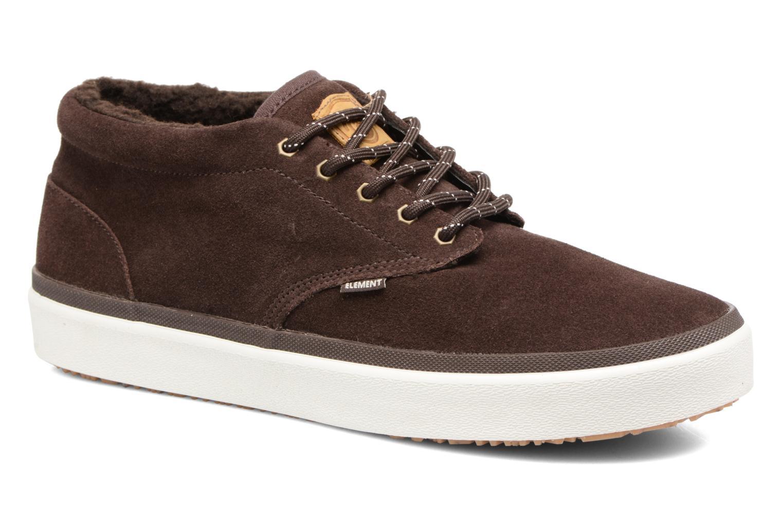 Chaussures de sport Element Preston Marron vue détail/paire