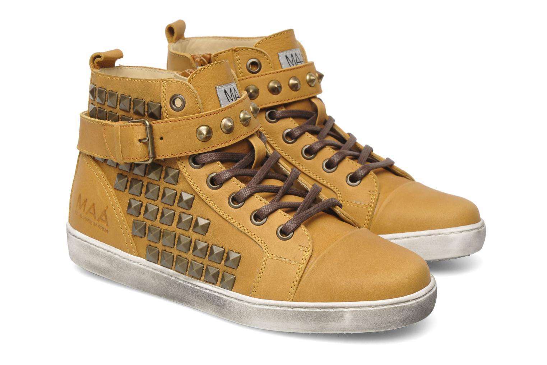 Sneakers Maa Rocker Geel 3/4'