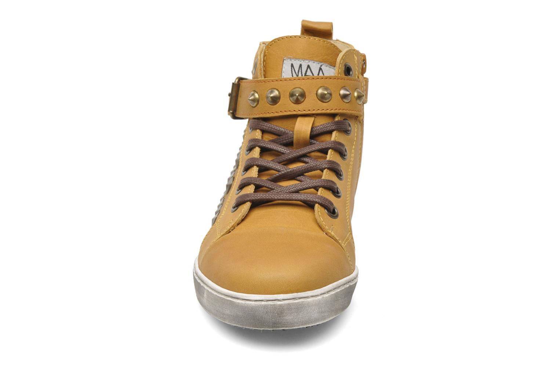 Baskets Maa Rocker Jaune vue portées chaussures