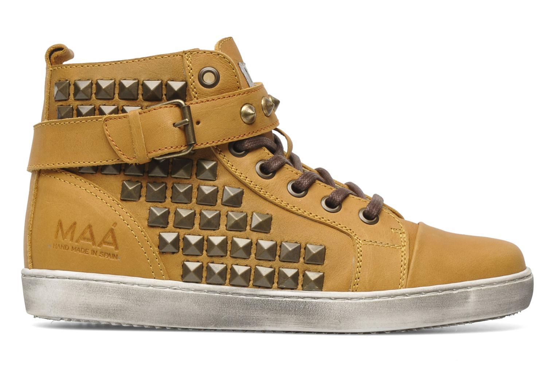 Sneakers Maa Rocker Geel achterkant