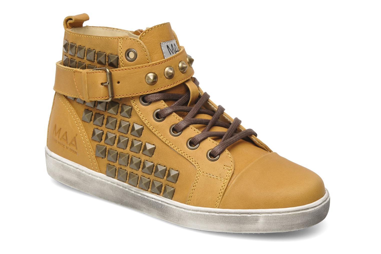 Sneakers Maa Rocker Geel detail