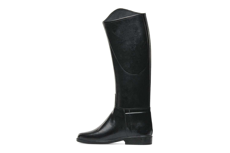 Zapatillas de deporte Le Chameau Alezan Toile Negro vista de frente
